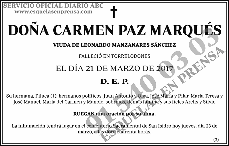 Carmen Paz Marqués